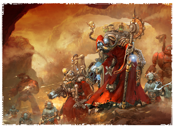 Cult Mechanicus- Translations of the 4 Formations/ Warlord Traits