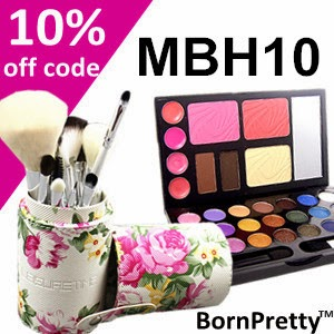 Use This Coupon Code For 10% Off At Born Pretty!