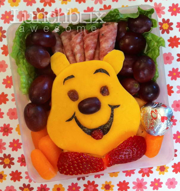 Creative Lunchbox With Cartoon Characters