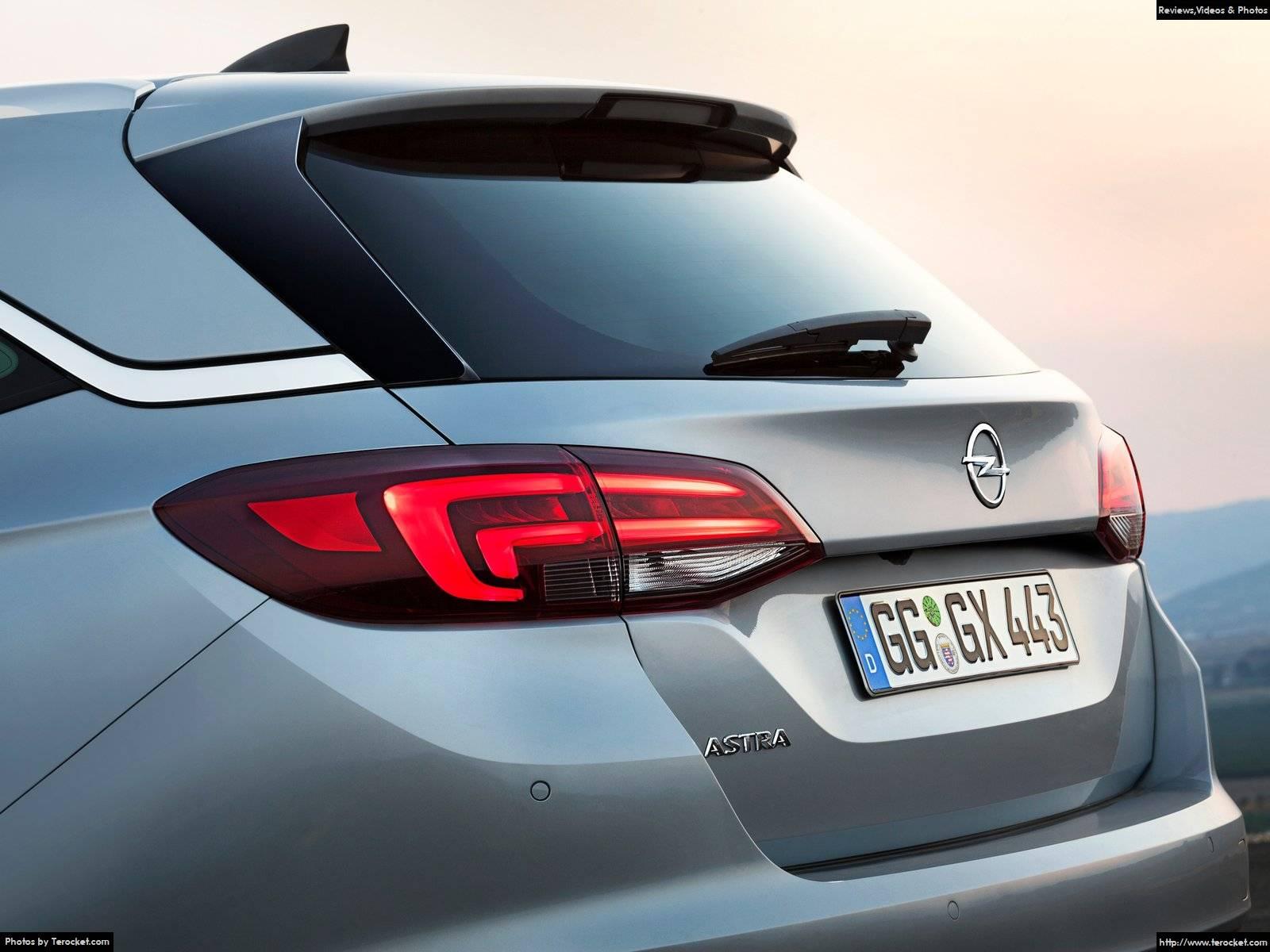 Hình ảnh xe ô tô Opel Astra Sports Tourer 2016 & nội ngoại thất