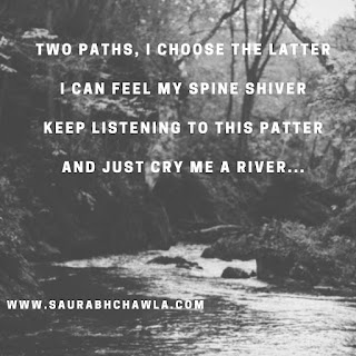 cry me a river poem by saurabh chawla