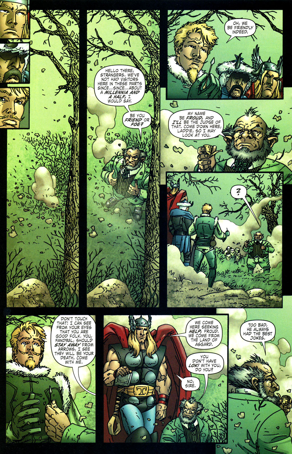 Read online Thor: Blood Oath comic -  Issue #4 - 12
