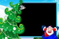 Moldura de Natal com fundo transparente - 2