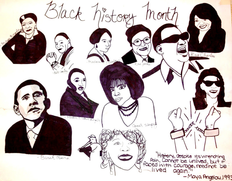 Black History Month Coloring Pages Unity Wreath Black History