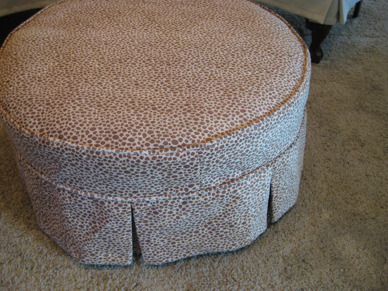 Custom Slipcovers By Shelley Pair Of Wingbacks And A