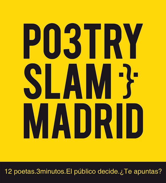 logotipo poetry slam madrid