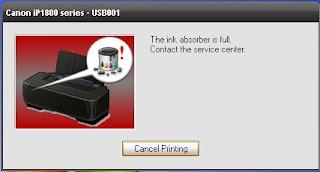 Cara mereset printer