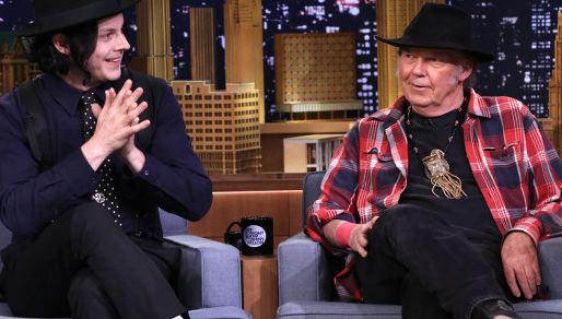 Neil Young und Jack White
