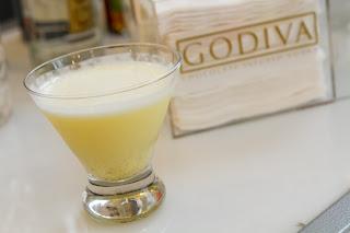 Les Femmes Coup Godiva Chocolate Raspberry Vodka