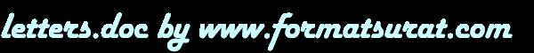 Format Contoh Surat - Formatsurat.com