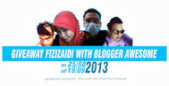 Segmen Giveaway fizizaidi With Blogger Awesome!