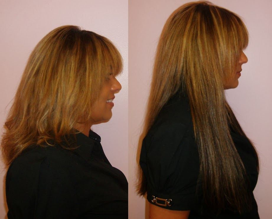 Microlink Hair Extensions In Los Angeles