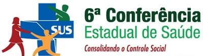 6ª Conferência Estadual de Saúde será realizada nos dias 4,5 e 6 de outubro