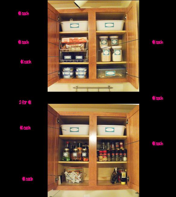 Dollar Store Kitchen Organization Ashley Creates Things
