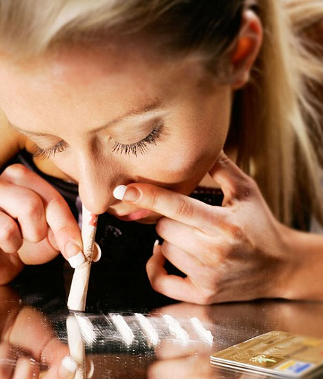 O Neurotransmissor: Drogas- Cocaína
