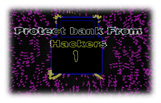 Protect online bank account