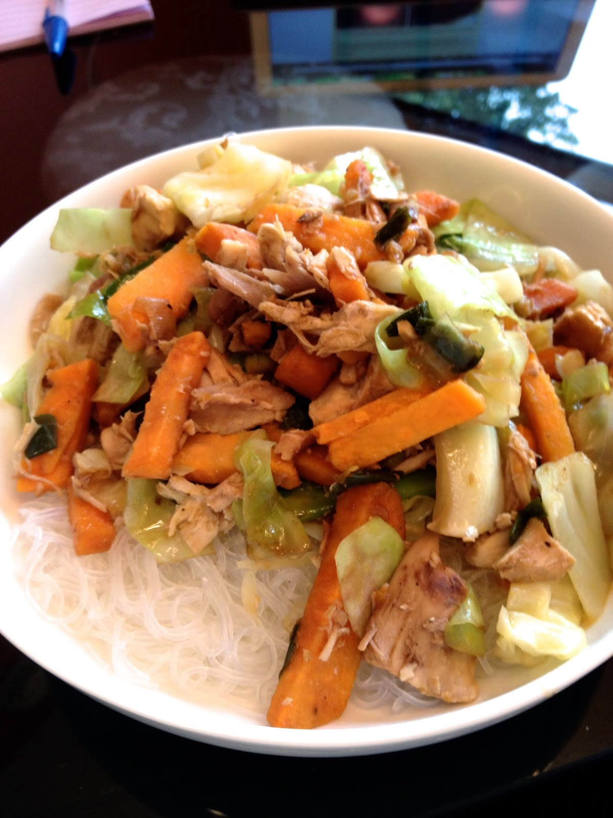 Chicken Stir-Fry With Yams