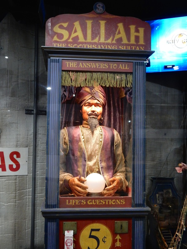 Warehouse 13 Sallah Fortune Teller Booth prop