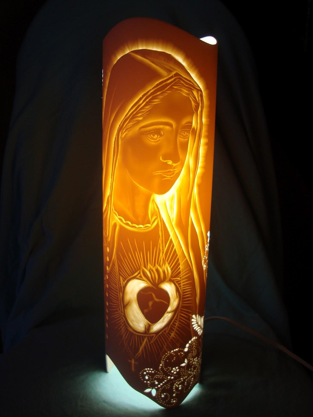 Artesanato Com Garrafa Pet Para Pascoa ~ Art Luz Luminárias Artesanais Luminária de Mesa em