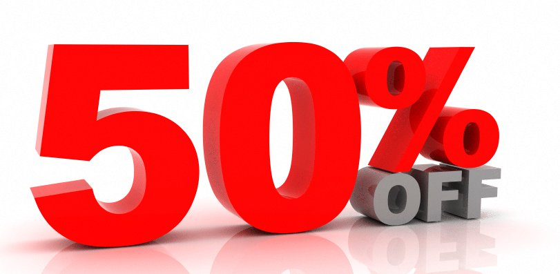 Etsy Summer 50% Off Sale!