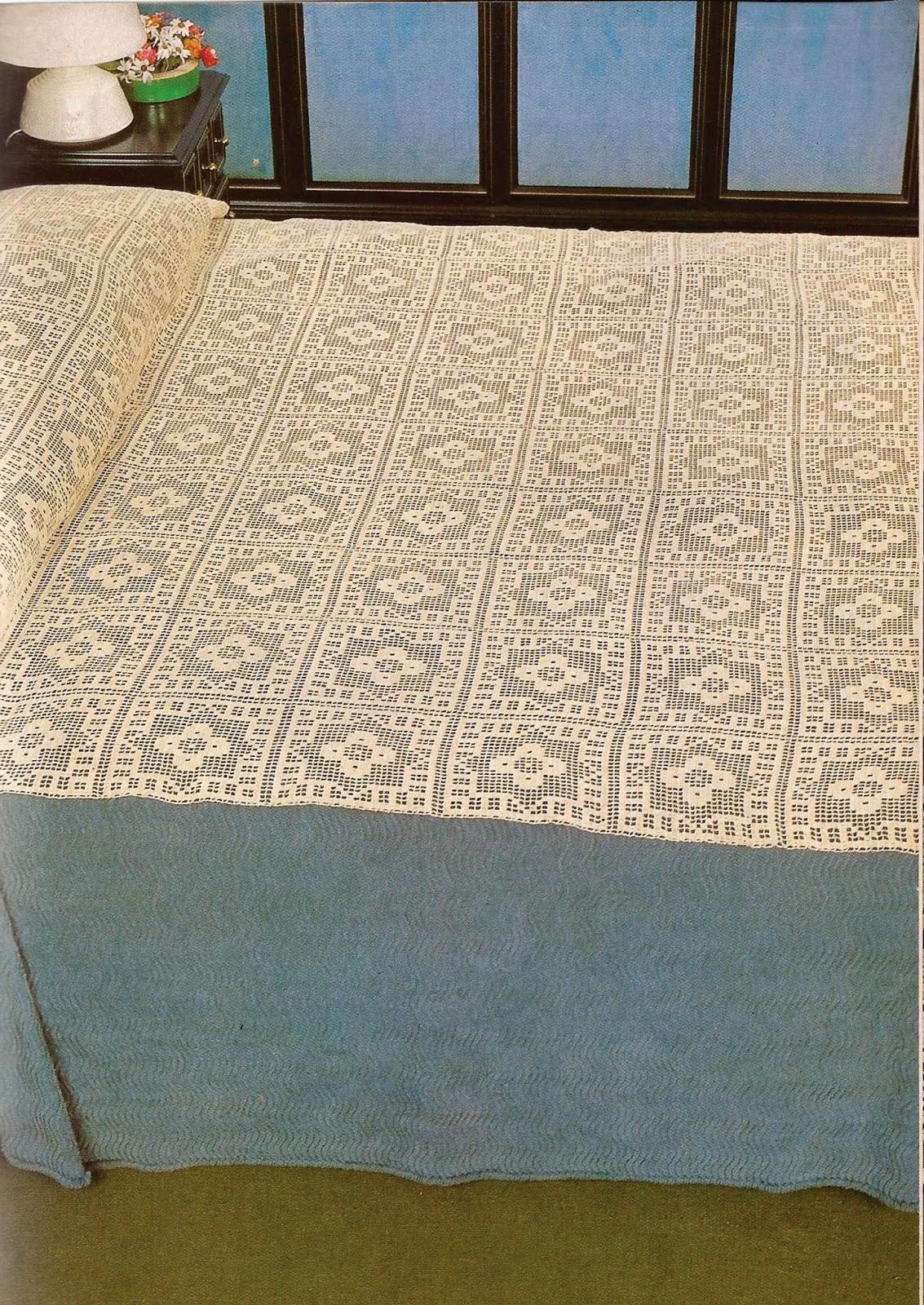 Cubre-Cama a Crochet