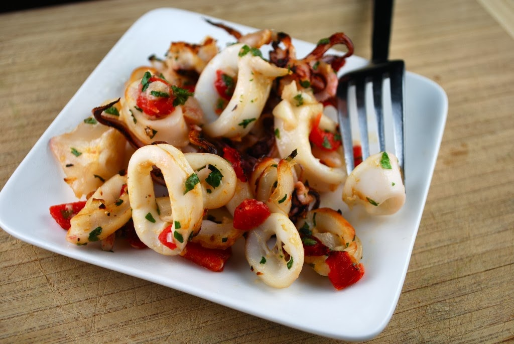 Lemon Squid Recipe
