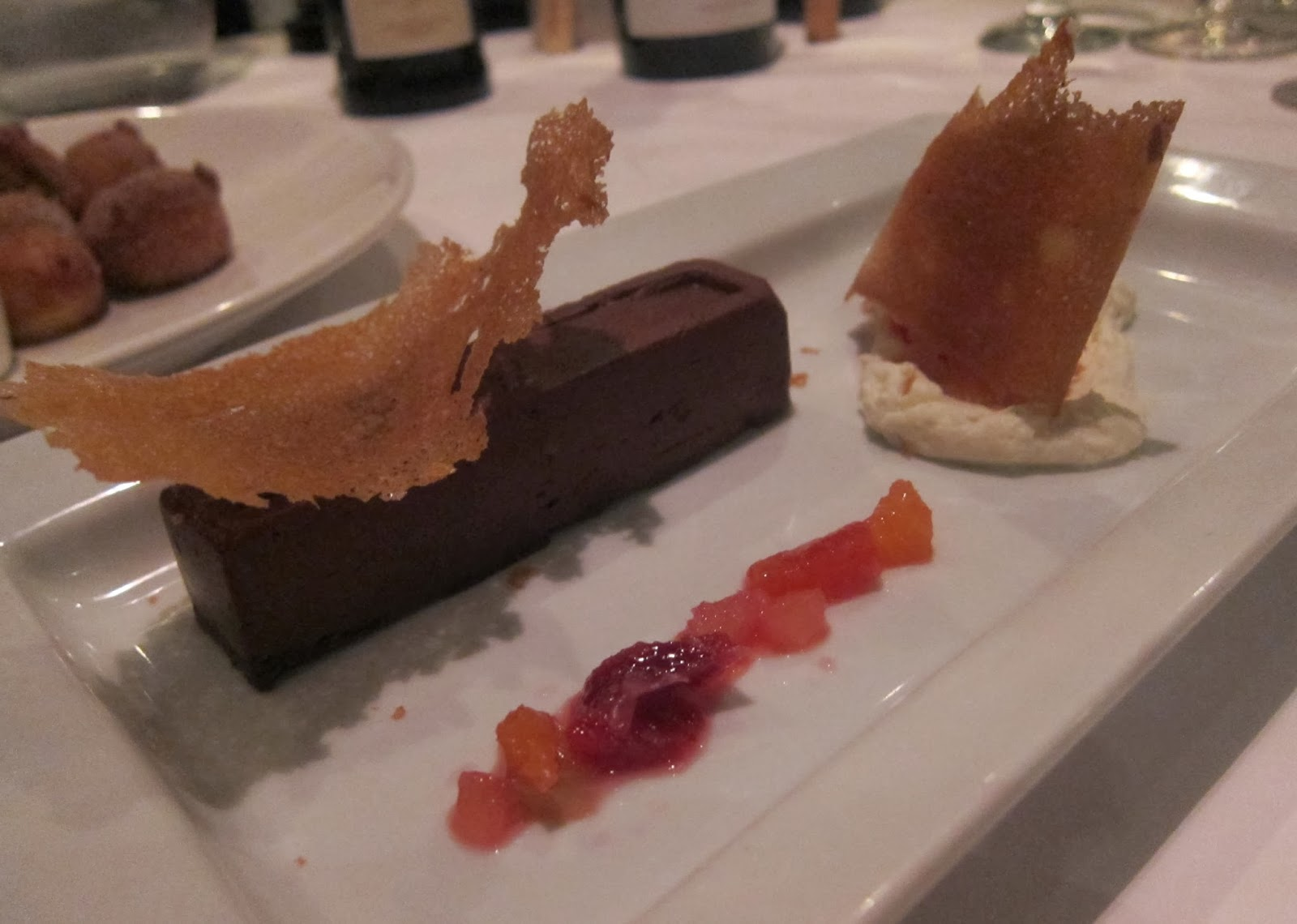 Chocolate Ganache a L'Orange at FISH Restaurant in Marlborough, MA | The Economical Eater
