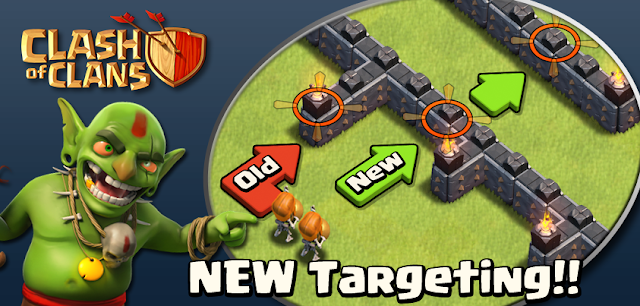 Clash of Clans New Dark Troops