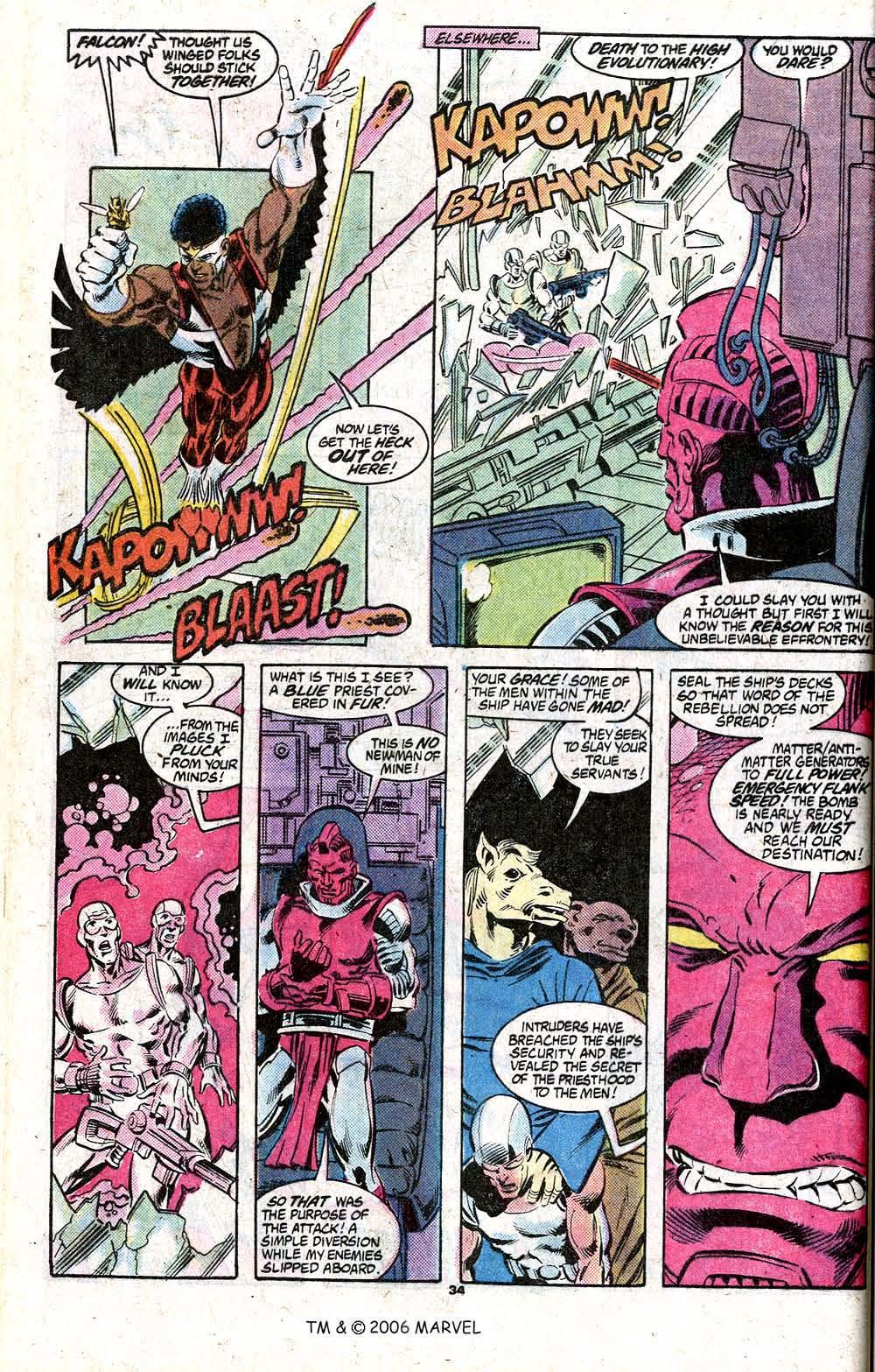 Captain America (1968) Issue #348c #280 - English 36