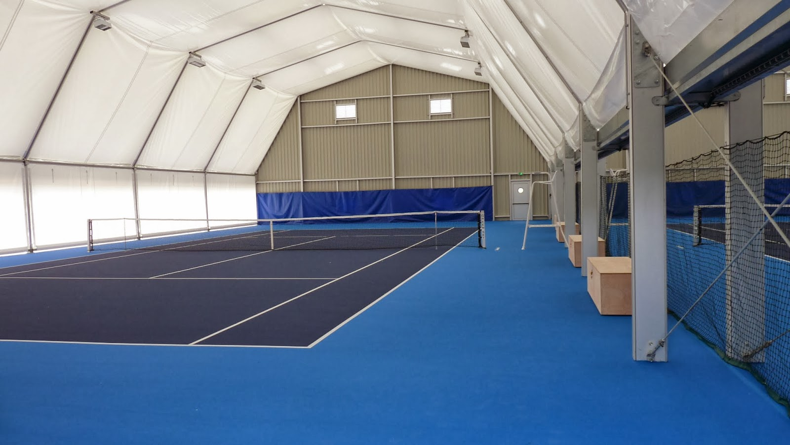 Lections municipales cellettes construction de 2 courts for Revetement court de tennis