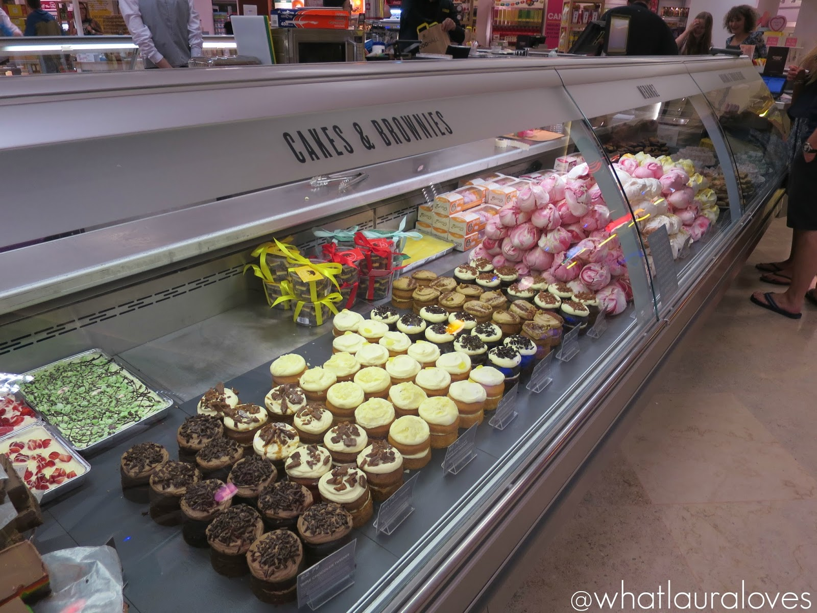 Selfridges Trafford Centre Foodhall Cakes and Brownies