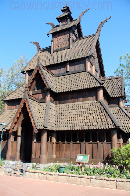 Stave Church Gallery in Norway Pavilion at Epcot