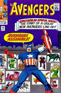 Avengers 16-Captain AmericaKooky Quartet