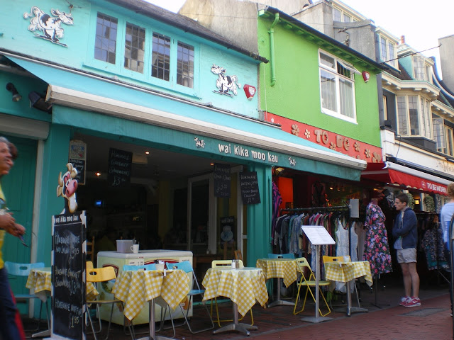 The vegan and vegetarian restaurants in Brighton are everywhere. This is one of UK's coolest cities to visit!