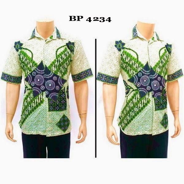 Kemeja Baju Batik Pria