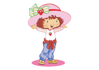 Strawberry shortcake rosita fresita Logo Vector