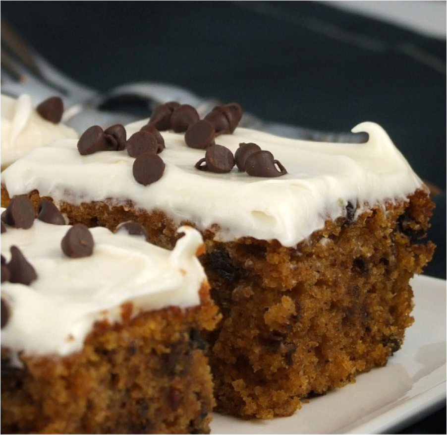 Whole Wheat Pumpkin Cake With Cream Cheese Frosting Recipes ...
