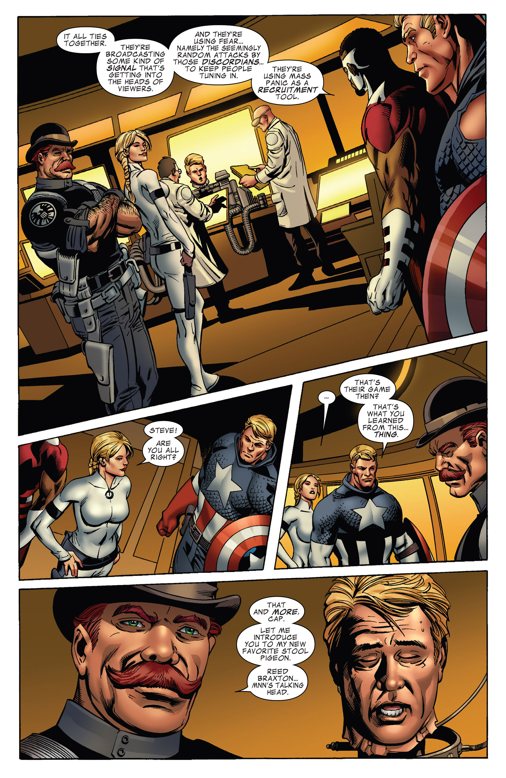 Captain America (2011) Issue #17 #17 - English 9