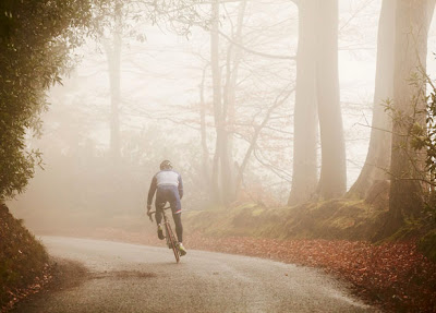 Road Cycling, Fog, Metaphor for life