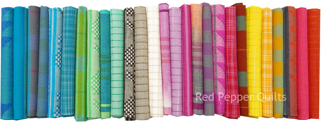 Loominous by Anna Maria Horner for Free Spirit Fabrics | Red Pepper Quilts