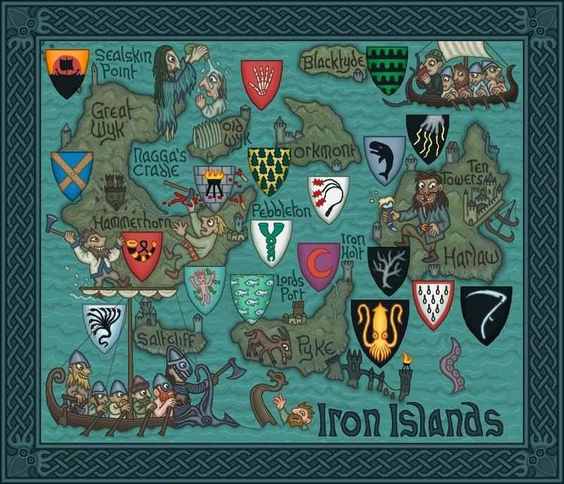 Conheça a série de Mapas incrivelmente detalhadas de Game