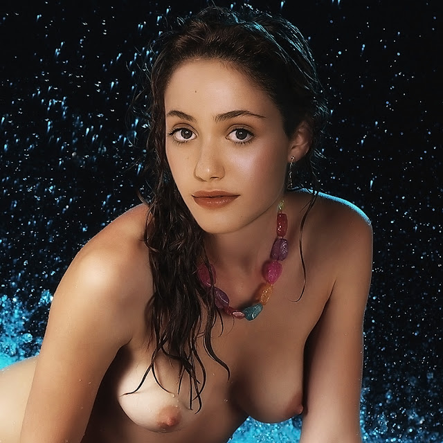 Emmy Rossum Nude Naked Young Topless