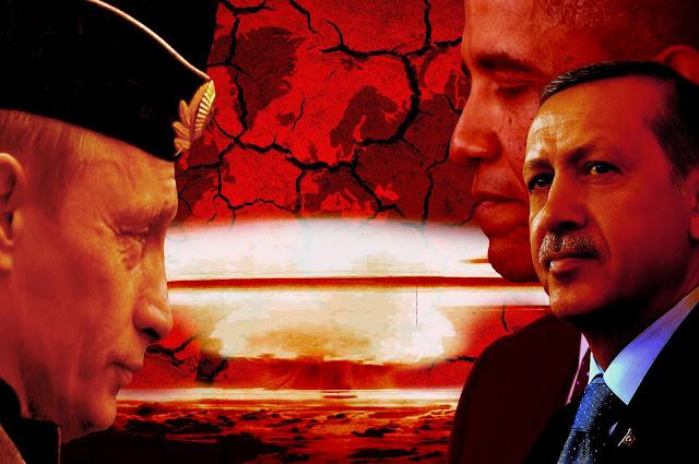 Ο παρανοϊκός Ερντογάν, επιχειρεί να ξεκινήσει ένα νέο παγκόσμιο πόλεμο...!