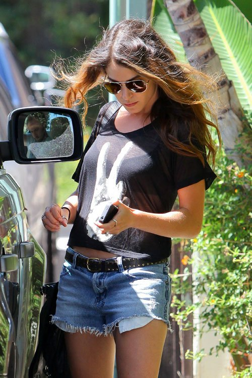 Nikki Reed & Paul McDonald Hunt For Watches at Platt Boutique » Gossip | Nikki Reed