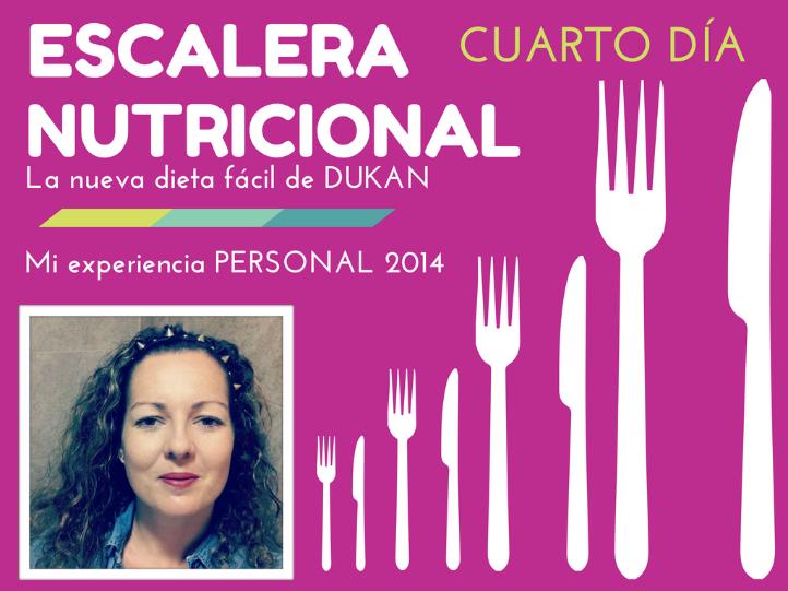 Vídeo de mi experiencia personal con la nueva dieta suave de Dukan ,LA ESCALERA NUTRICIONAL,mi cuarto día el JUEVES de proteínas+verdura+fruta+pan integral,deporte y más...