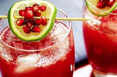 Lychee And Pomegranate Juice