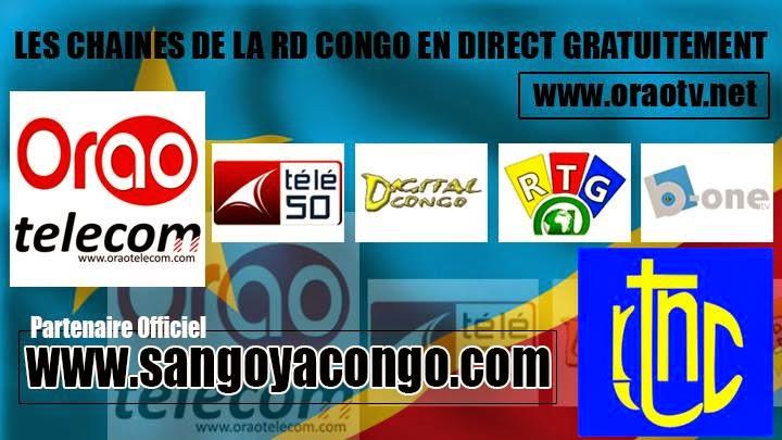 Suivez les chaînes de la RDC en direct et GRATUITEMENT