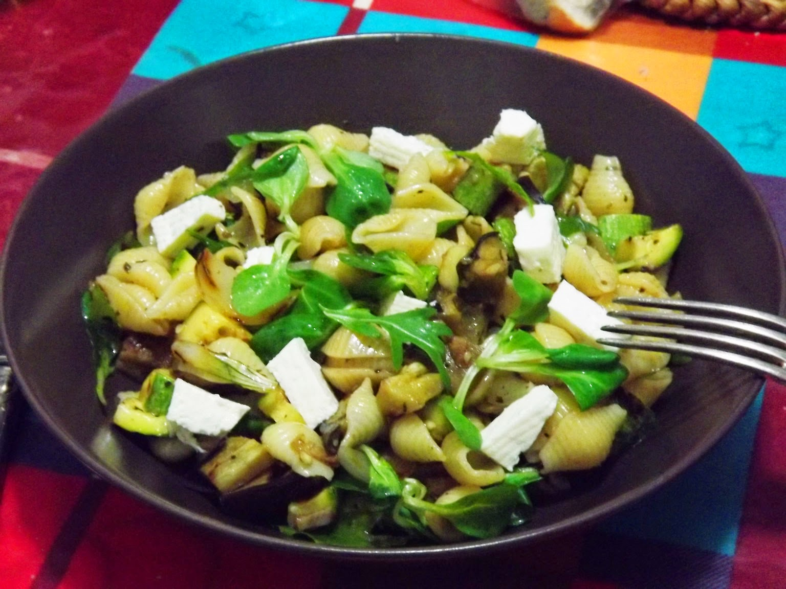 Gourmand Gourmet Salade De Pates Aux Legumes Grilles