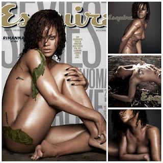 Pose Bugil Rihanna