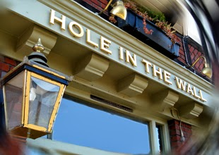 Hole in the Wall pub, London
